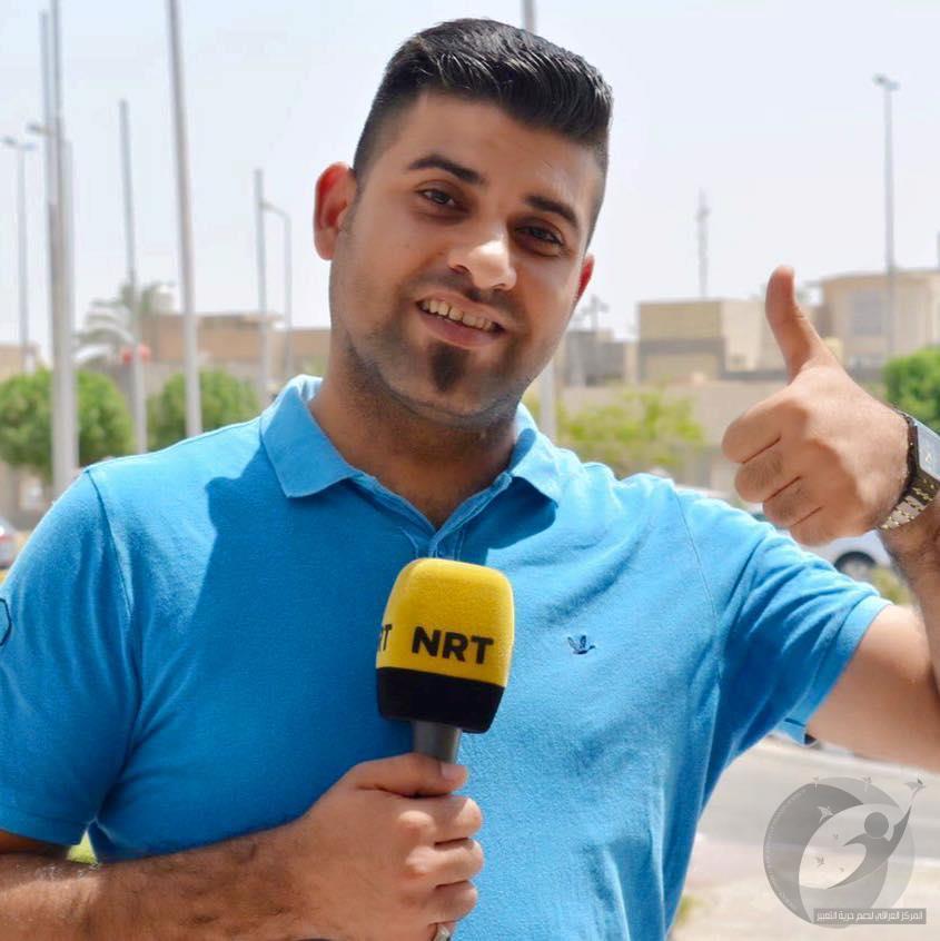 مذكرة قبض بحق صحفي كشف فساد في مطار النجف والعبادي مطالب بالتدخل
