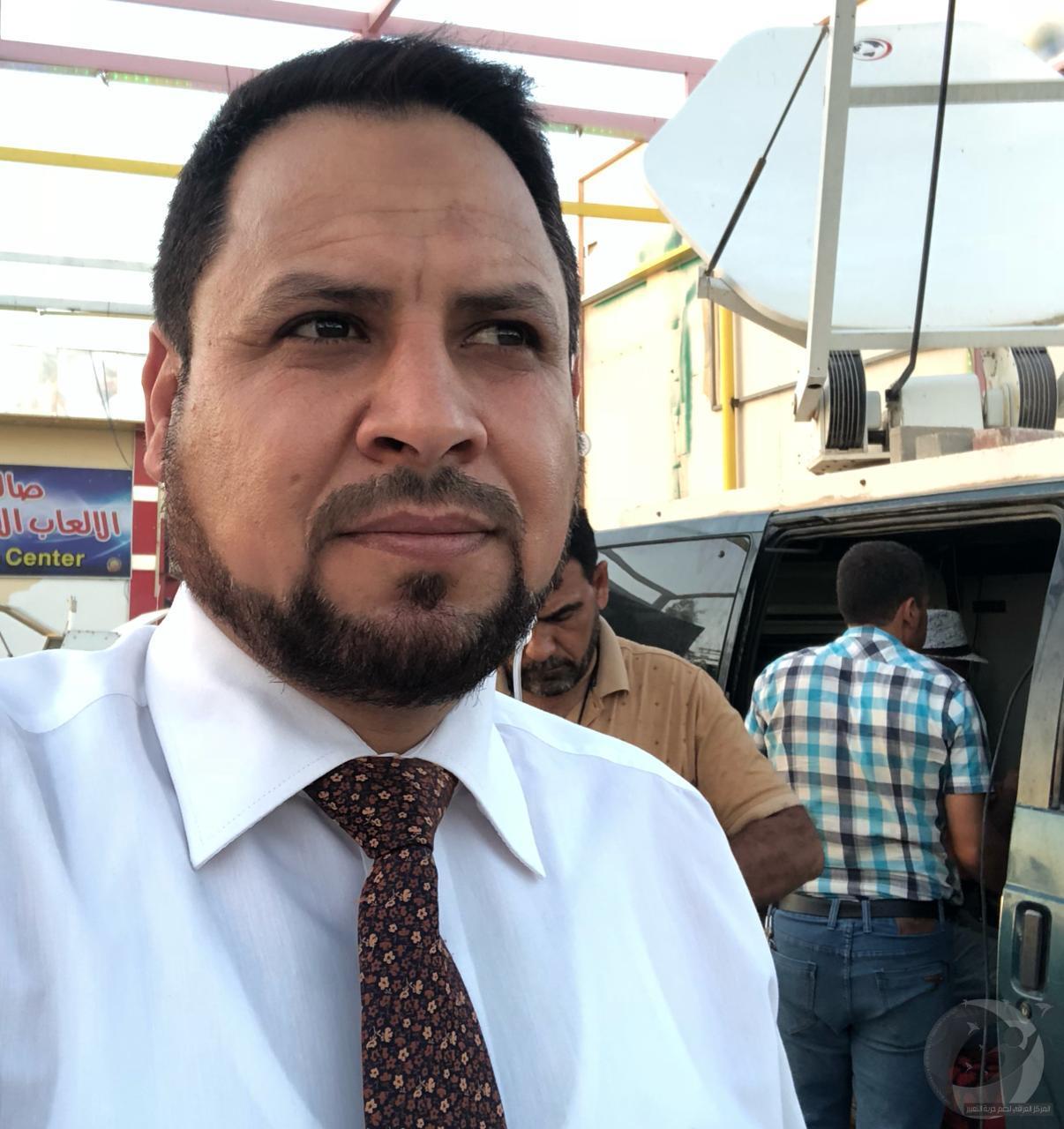 حقوق  يرفض تهجم ضابط في مرور الديوانية على فريق قناة العراقية ويطالب بتسجيل دعوى