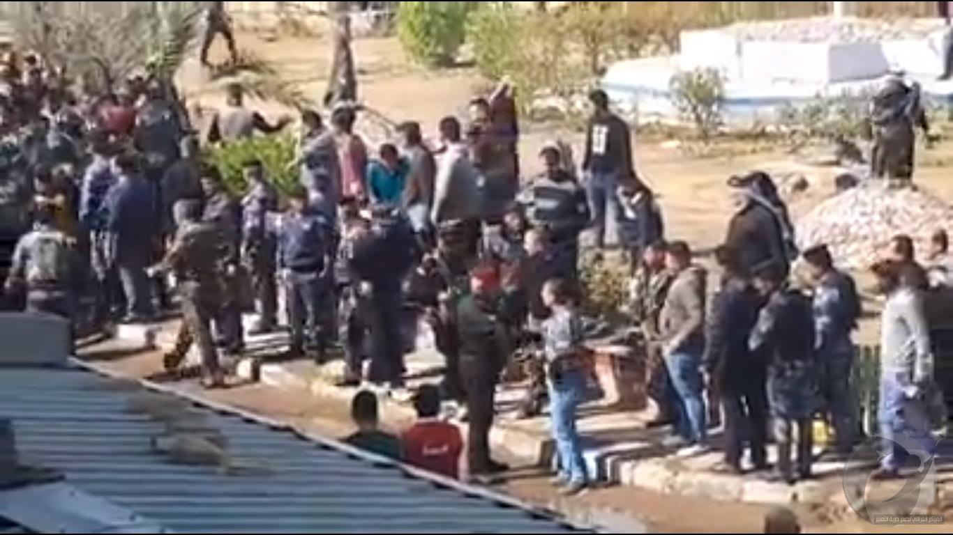 حقوق يدين اعتداء مكافحة الشغب على معلمين تظاهروا لنيل حقوقهم في البصرة
