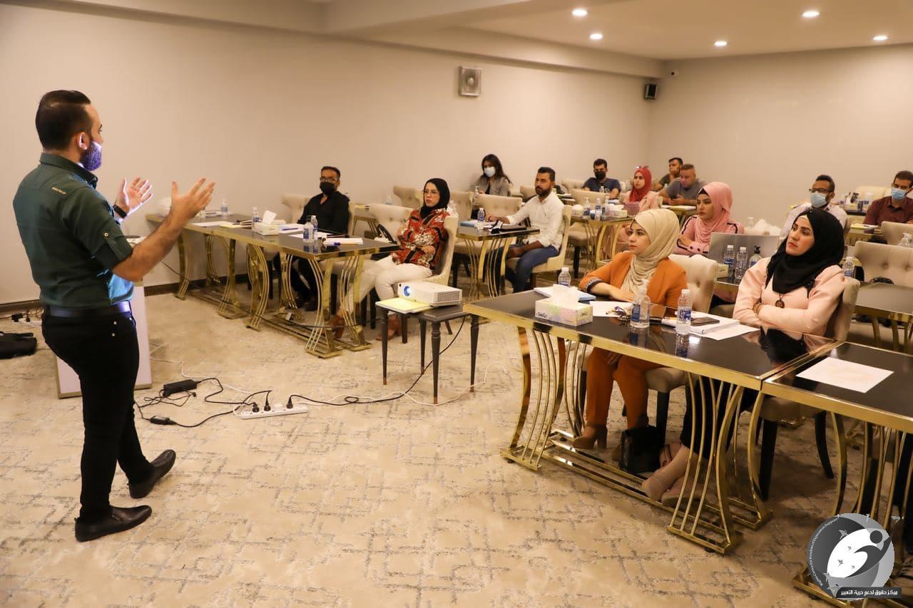 مركز حقوق: تدريب نحو 60 شخصاً حول المعلومات المضللة خلال الشهر المنصرم
